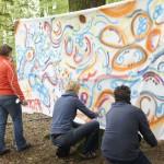 Bedrijfsuitstapje graffiti