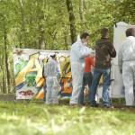 Bedrijfsuitje graffiti